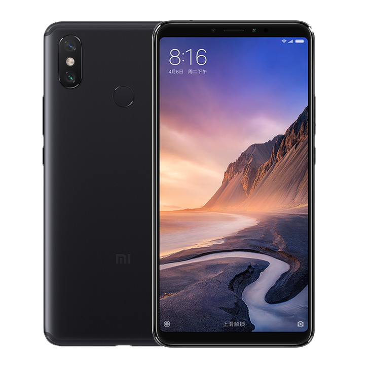 Смартфон Xiaomi Mi Max 3 6/128(Black)