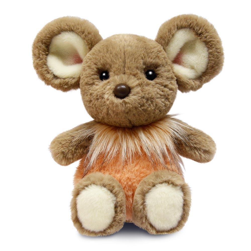 Мягкая игрушка Aurora Мышонок девочка 25 см 190056B