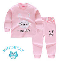 Пижама для девочки  Зайчик Baby's на рост 80 см.