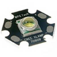 Светодиод Cree XPE Q5 для фонарей POLICE на подложке 20 мм