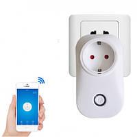 Умная Wi-Fi розетка SONOFF S20 с таймером и расписанием 10A Умный Дом