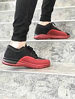 Мужские кроссовки Jordan trainer prime (black/red), мужские кроссовки Jordan (реплика ААА)