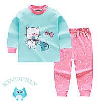 Пижама для девочки  Кошечка Baby's на рост 73 см.
