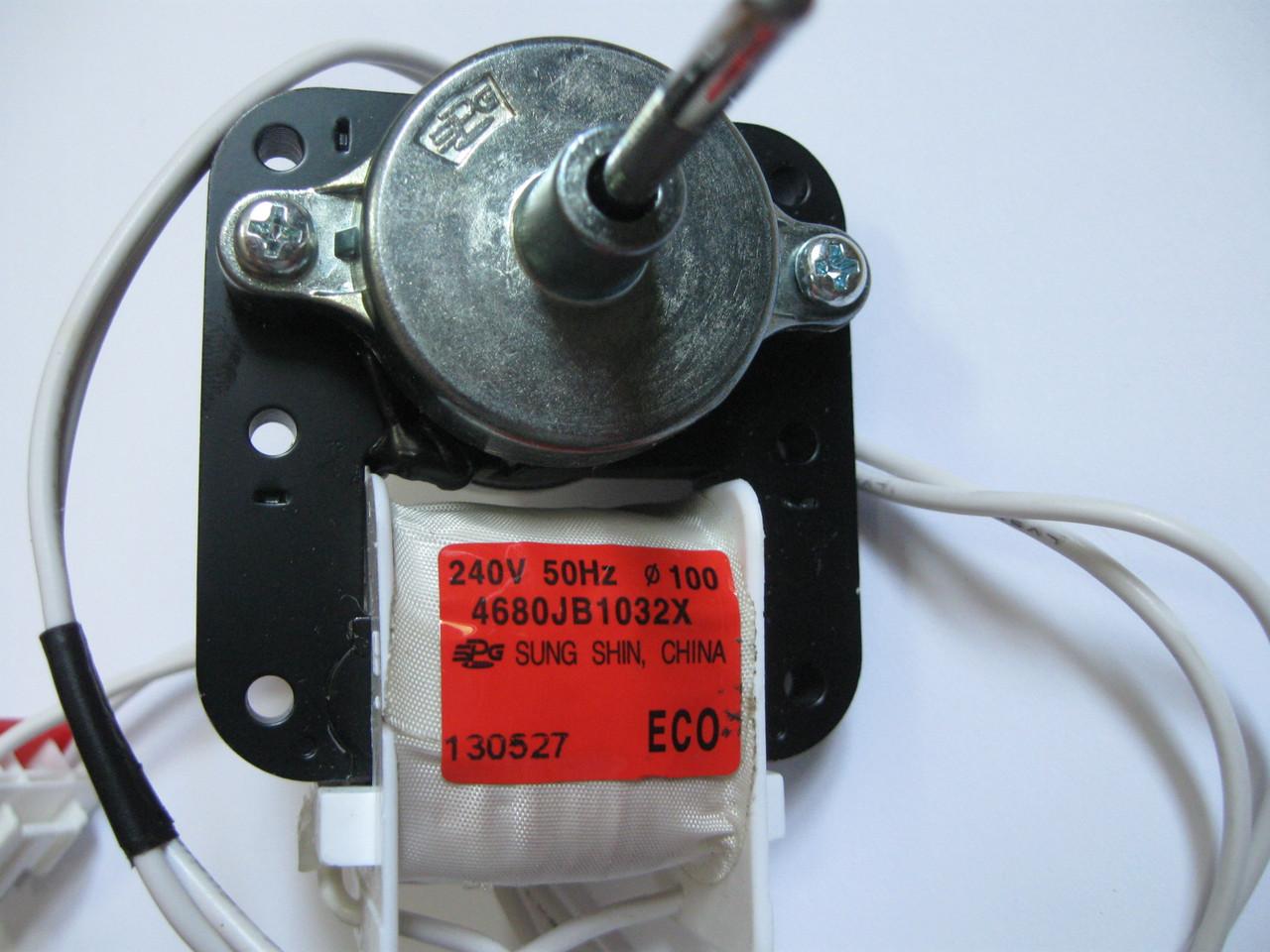 Двигатель вентилятора морозильного отделения LG 4680JB1032X