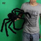 Искусственный паук для Halloween - размер приблизительно 75см, фото 2