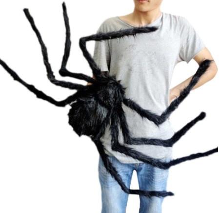 Искусственный паук для Halloween - размер приблизительно 75см