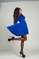 Платье женское с открытыми плечами короткий рукав