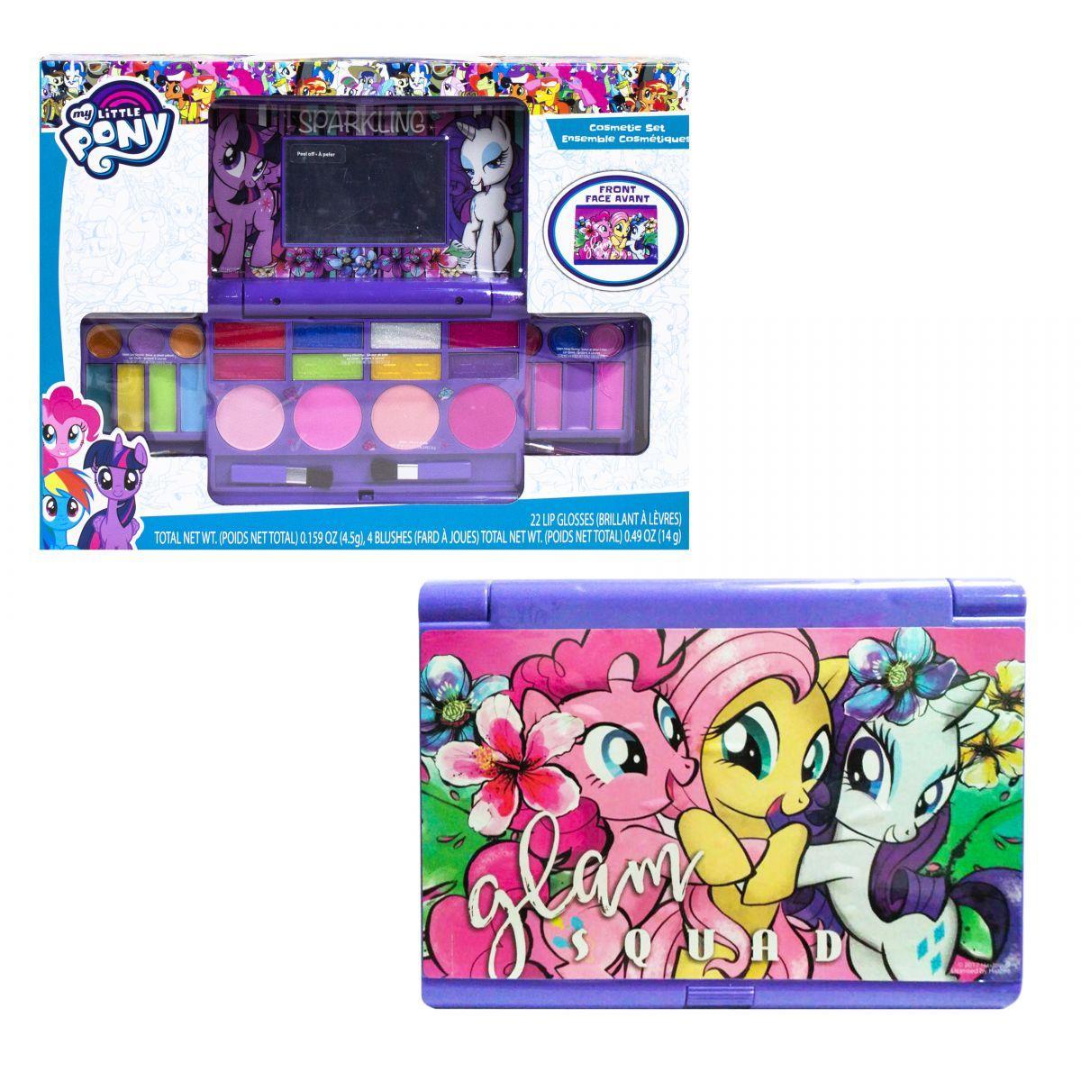 """Набор детской косметики Пони """"My little Pony"""" H103: лак для ногтей, помады, тени, румяна, блеск"""