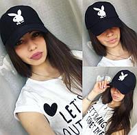 Женская кепка черного цвета, фото 1