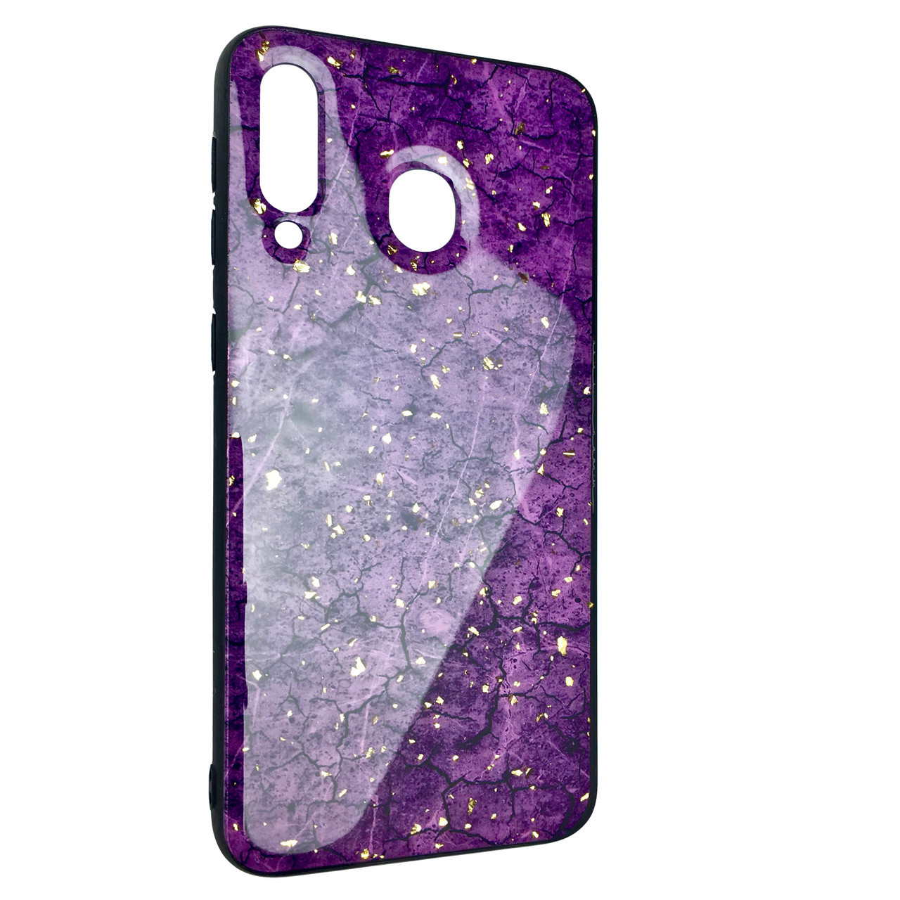Чехол Silicone Form Resin Lava Gold Samsung A60 (violet)