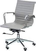Офисное кресло Solano 5 artleather grey Tilt, реплика дизайнерского кресла Eames Style Бесплатная доставка, фото 1