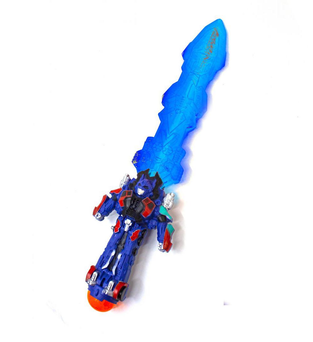 Меч музыкальный Оптимус Прайм (голубой )