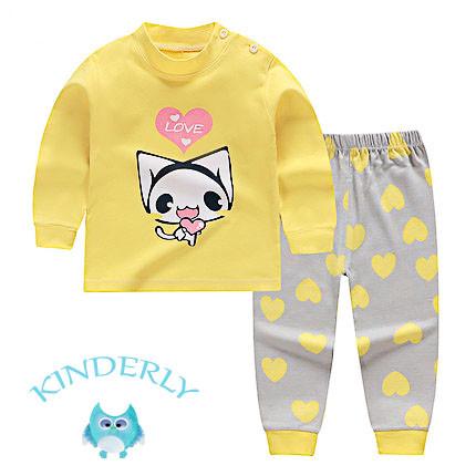 Пижама для девочки  Кошечка Baby's на рост 100 см.