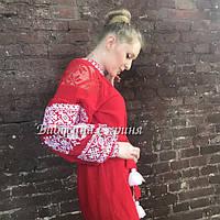 Заготовка плаття під вишивку бісером БС-153-2с, фото 1