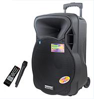 Портативная активная колонка A15-2 (USB/TF Card/ 1 Радиомикрофон/AUX) Супер звук!