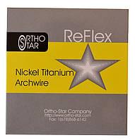 Дуги Ni-Ti на верхню щелепу, круглі, Ortho- Star (Орто- Стар), USA (США), 10 шт/уп