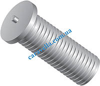 DIN 32501, шпилька резьбовая приварная из нержавейки