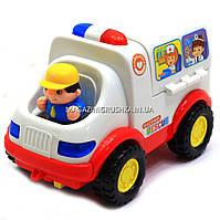 Машинка музыкальная  игрушечная «Скорая помощь» с набором инструментов KI-7046, фото 1