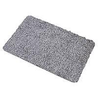 🔝 Придверный супервпитывающий коврик Clean Step Mat - Super Clean Mat - Серый | 🎁%🚚