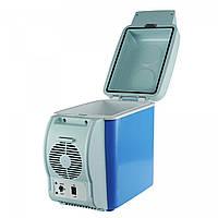 🔝 Автохолодильник, удобный, переносной холодильник, на 7.5 литров, холодильник в машину | 🎁%🚚