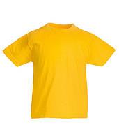 Детская футболка Original Солнечно Желтый 7-8