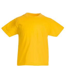 Детская футболка Солнечно Желтый 140 см