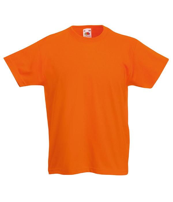 Детская футболка Оранжевый 104 см