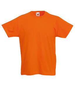 Дитяча футболка Помаранчевий 164 см