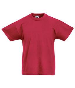 Дитяча футболка Цегляно-Червоний 128 см