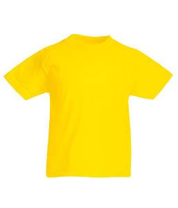 Дитяча футболка Original Жовтий 9-11