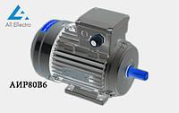 Электродвигатель АИР80В6 1,1 кВт 1000 об/мин, 380/660В