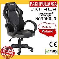 Офисное Компьютерное Игровое Кресло (Польша) NORDHOLD ULLR Чёрное