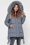 Зимняя куртка женская размер 44 идет на 46-48, X-Woyz LS-8845-12, фото 5