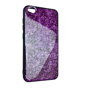 Чехол-накладка DK-Case Silicone Form Resin Lava Gold для Xiaomi Redmi Go (violet)
