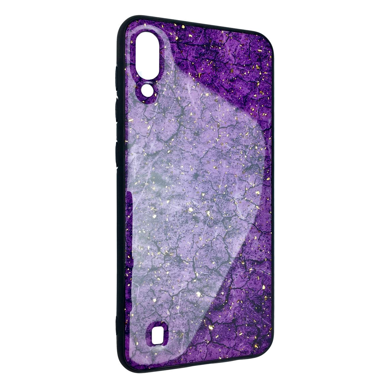 Чехол Silicone Form Resin Lava Gold Samsung M10 (violet)