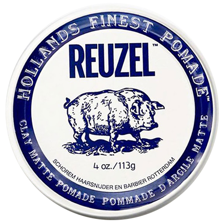 Глина для волос Reuzel Clay Matte Pomade Strong Hold 113 г.