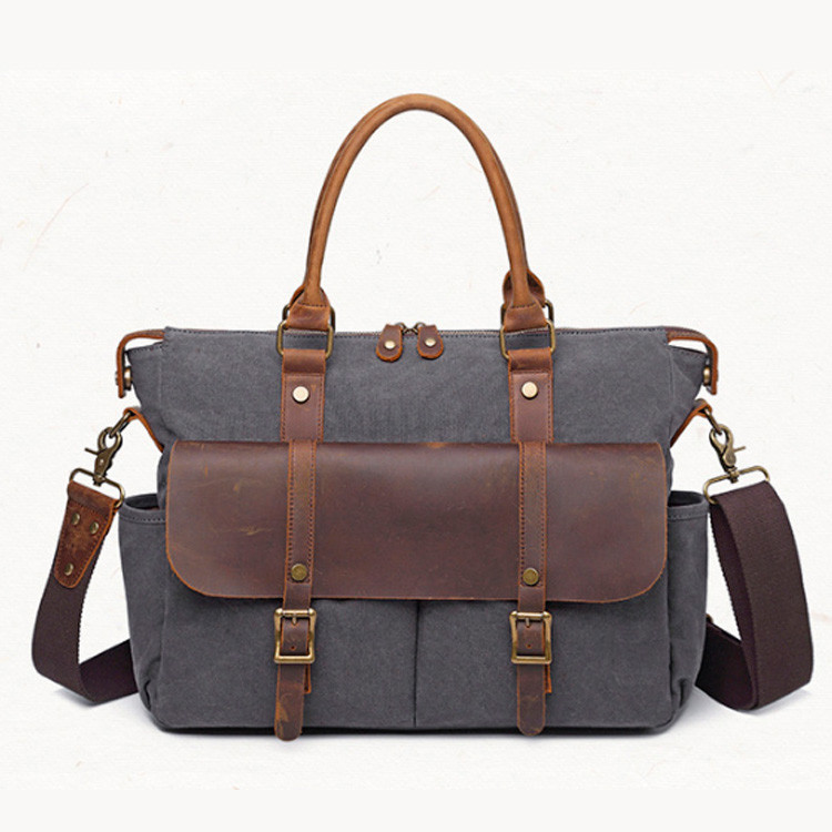 Мужской винтажный портфель S.c.cotton