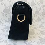 Стильная женская сумка с бантиком черная  (163), фото 8