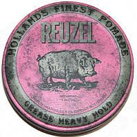 Помада для волос Reuzel Pink Heavy Hold Grease 113г