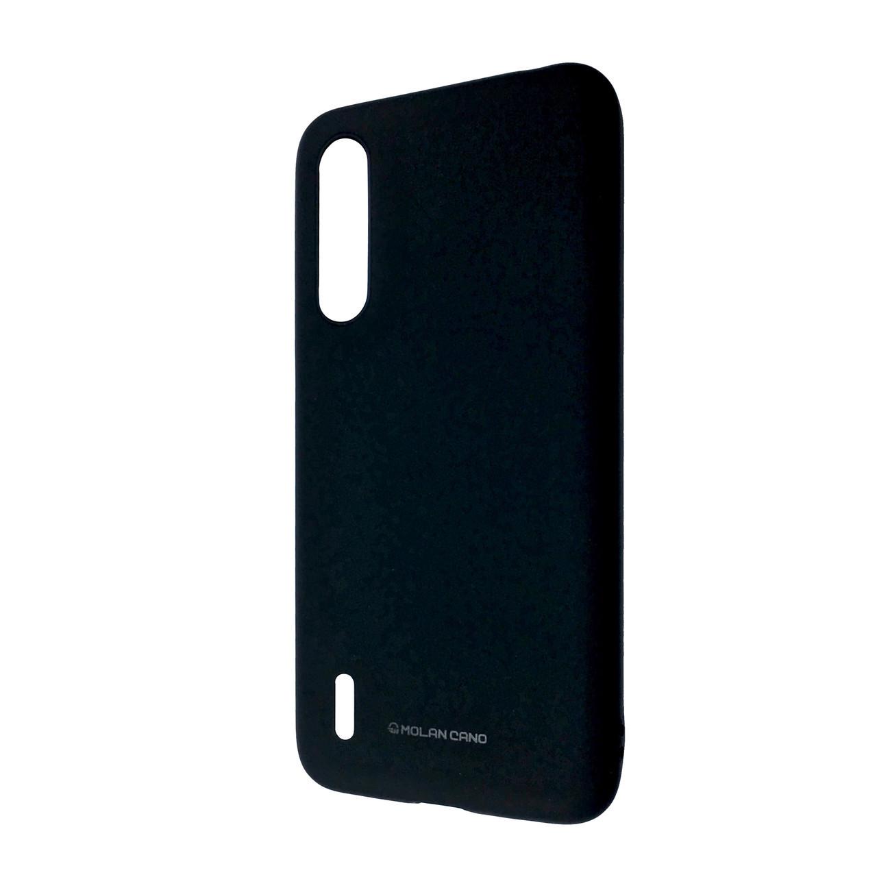 Чехол Silicone Hana Molan Cano Xiaomi Mi A3 (Mi CC9e) (black)