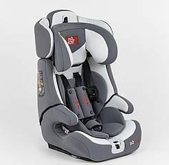 Автокресло универсальное FX 9559 Joy, 9-36 кг, ISOFIX серый 80460
