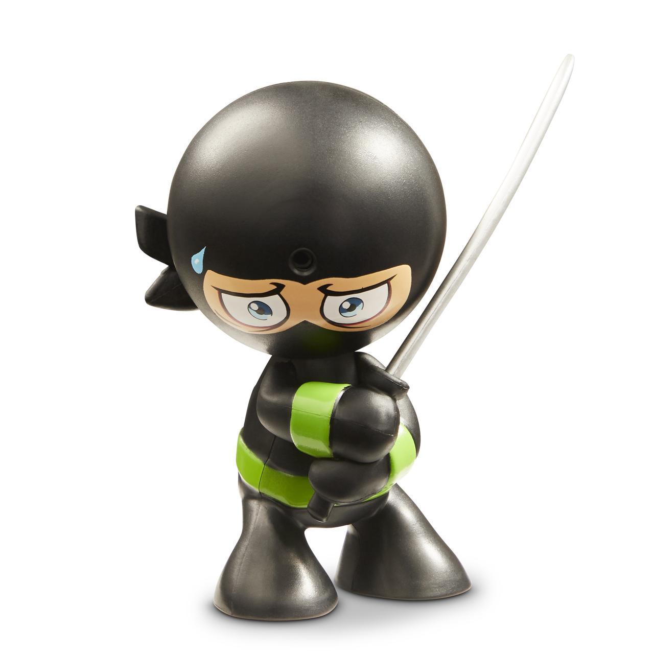 Інтерактивна фігурка Funrise Ніндзя Shadow Ripper чорне кімоно, зелений пояс 70505