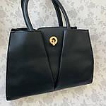 Женская сумка черная  (064-Т), фото 2