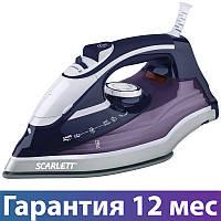 Утюг Scarlett SC-SI30K19, 2400 Вт, брызгалка, пар, мерный стакан, керамика, длинный шнур 2.1 м