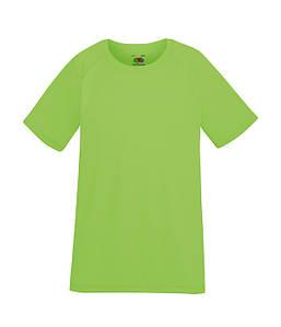 Детская спортивная футболка Лайм 104 см