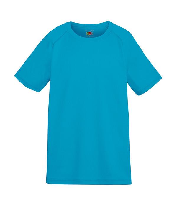 Детская спортивная футболка Ультрамарин 140 см