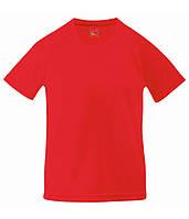 Детская спортивная футболка Красный 152 см