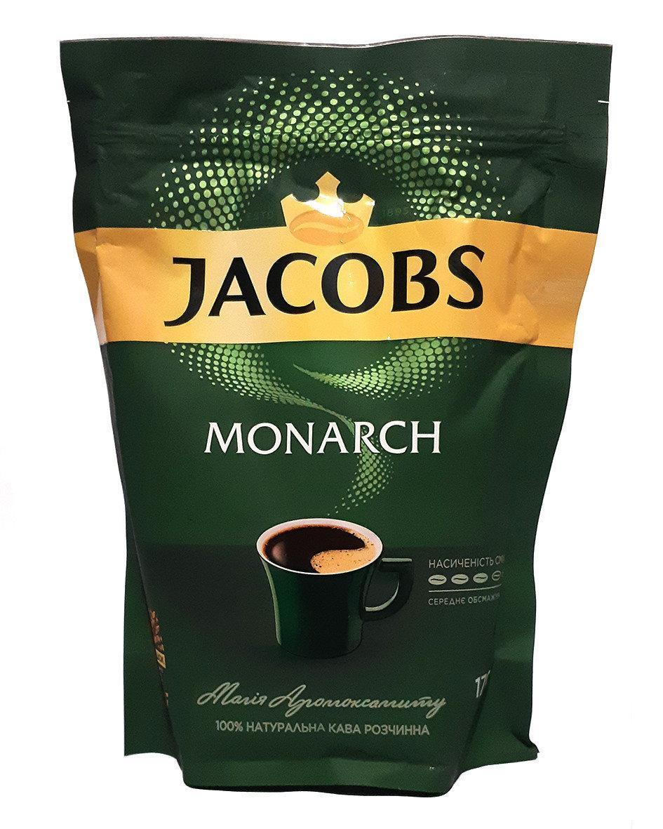 Кофе растворимый сублимированный Jacobs Monarch 100 г в мягкой упаковке