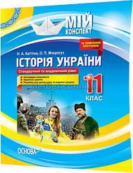 11 клас / Історія України. Мій конспект (2019) / Мокрогуз / Основа