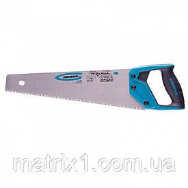 "Ножовка по дереву ""PIRANHA"", 400 мм, 7-8 TPI, зуб - 3D, каленый зуб, 2-х комп. рук-ка// GROSS"